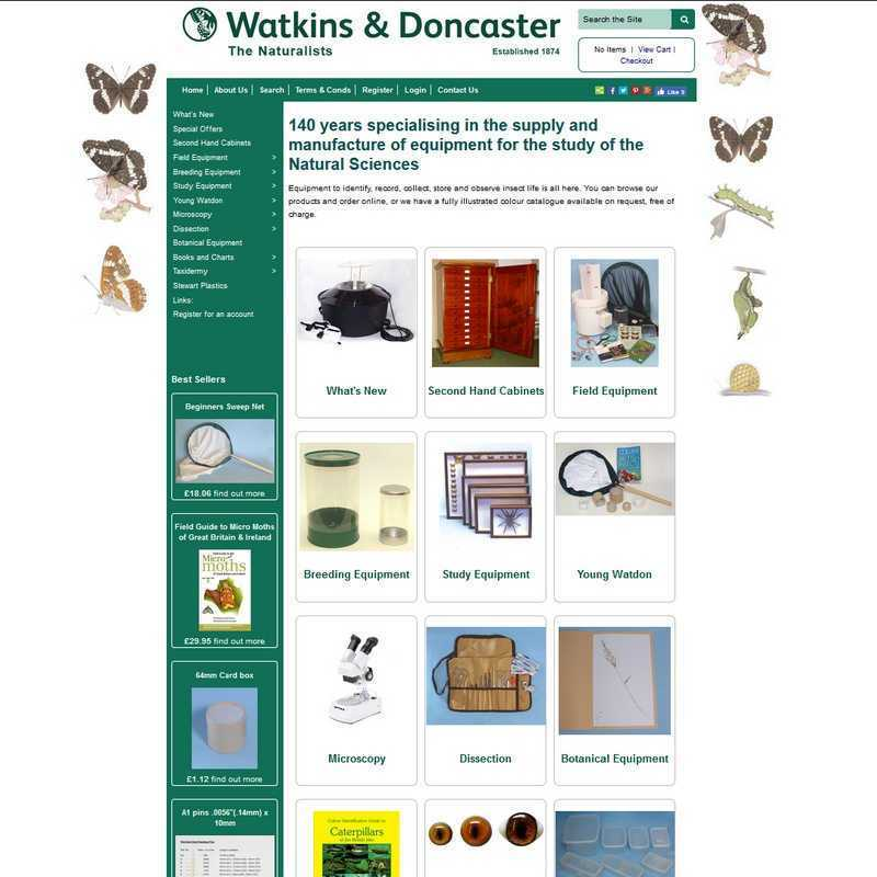 Website by Graphicz for Watkins and Doncaster